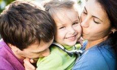 Laika trūkums, bērna un vecāku slodze – galvenie ģimenes laimes zagļi