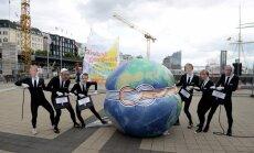 Par uzbrukuma gatavošanu G20 Vācijā aizturēts kreisais ekstrēmists