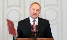 Valsts prezidents uz 9.maija svinībām Maskavā nedosies