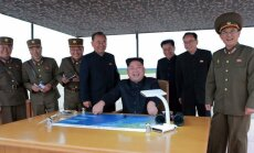 Ziemeļkoreja draud izmēģināt ūdeņraža bumbu Klusajā okeānā; Čenuns uzbrūk 'jukušajam' Trampam