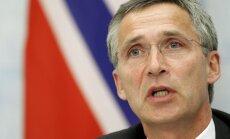 NATO gatava aizstāvēt Baltijas valstis no Krievijas, paziņo Stoltenbergs