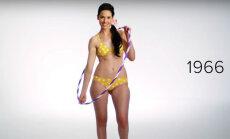 Video: Kā 100 gados mainījusies sieviešu peldkostīmu mode