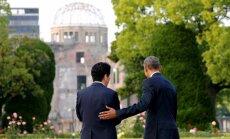 Japānas premjerministrs ieradīsies vēsturiskā vizītē Pērlhārborā