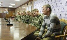 Украина отпустила задержанных российских десантников