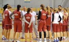 Latvijas basketbolistes pirms EČ kvalifikācijas aizvadīs astoņas pārbaudes spēles