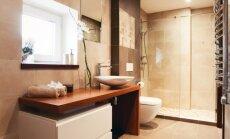 Vannasistaba un tualete vienā telpā – dažādi atdalīšanas varianti