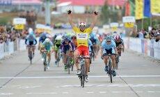 Bogdanovičs spraigā cīņā finišē trešais 'Tour of China 2' velobrauciena posmā
