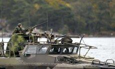 Zviedrija: Krievijas militārās aktivitātes pieaugums Baltijas jūras reģionā ir satraucošs