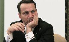 ES paplašināšanās - Ukrainai jāizpilda Briseles prasības, norāda Polijas ārlietu ministrs