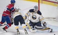 Girgensons palīdz 'Sabres' gūt uzvaru pret 'Canadiens'