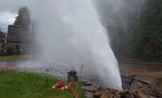 Ziepniekkalnā pilnīga ūdens padeves atjaunošana aizkavēsies