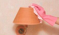 Putekļu perēklis – abažūrs. Kā efektīvi notīrīt lampu