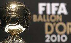 Krištianu Ronaldu un Mesi min kā galvenos pretendentus uz Gada labākā futbolista balvu