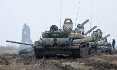 Vācija lauž līgumu par militārā poligona būvniecību Krievijā