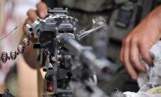Krievijas spēki pie Ukrainas robežas ierīko uguns pozīcijas