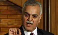 Irākas viceprezidentam Hašemi aizmuguriski piespriež ceturto nāvessodu