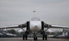 Pie Latvijas robežas lidinās piecas Krievijas militārās lidmašīnas