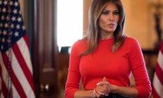 Melānija Trampa dosies uz Barbaras Bušas bērēm