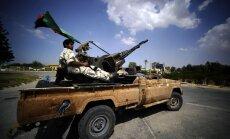 Sadursmēs Lībijas galvaspilsētā un apkārtnē 96 nogalinātie