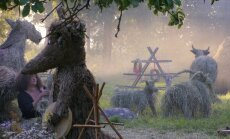 Neparastas skulptūras un vasaras tveice. 'Siena dienas' Kaldabruņā