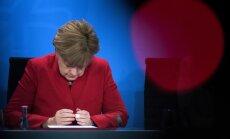 Меркель не видит причин для снятия санкций с России
