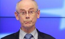 Van Rompejs pauž neizpratni par Putina iecerēto Eirāzijas Savienību