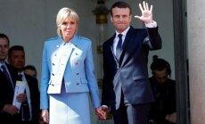 ФОТО: Макрон вступил в должность президента Франции