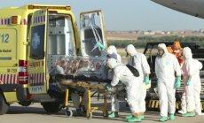 Infografika: Kur un kā pasaulē izplatījies Ebolas vīruss?