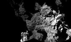 Eiropas zonde 'Philae' nostabilizējusies uz komētas