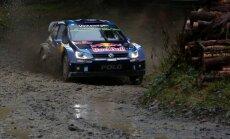 Pasaules čempions Ožjērs pārņem Vācijas WRC rallija līdera godu