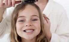 Frizieres padomi mazo princešu mammām 'nepaklausīgo' matiņu savaldīšanai