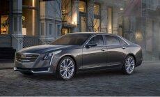 'Cadillac CT6' – markas jaunais flagmanis
