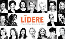 Pieredzes stāsti un padomi izaugsmes un iedvesmas forumā 'Līdere'