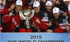 Pēdējais šā čempionāta IIHF nenopietnais rangs: Kanāda dabūja, ko gribēja. Pilns 'džekpots'