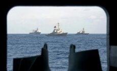 ASV izvieto karakuģus Ziemeļkorejas raķetes izsekošanai