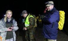 ФОТО: В лесах под Сигулдой уже вторые сутки ищут пропавшую женщину