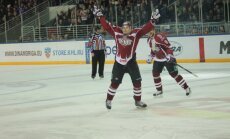 Cibuļskis pēdējās minūtēs nodrošina Rīgas 'Dinamo' uzvaru pārbaudes mačā pret 'Ņeftehimik'