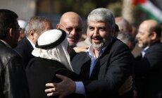 45 gadus pēc došanās trimdā Gazā ieradies 'Hamas' līderis