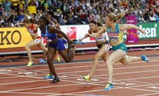 Austrālijas sprintere Pīrsone vēlreiz uzvar Londonas olimpiskajā stadionā