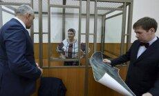 Savčenko apmainīs pret Krievijas karavīriem, vēsta avoti