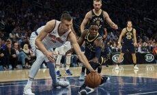 Porziņģis nepiedalīsies arī nākamajā 'Knicks' spēlē