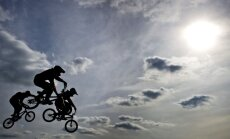 Latvijas BMX riteņbraucējiem sešas godalgas EČ bērnu un krūzeru grupās