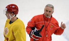 Treneris Krievijas izlases 'fiasko' PČ skaidro ar kļūdām komplektācijā un organizācijā