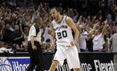 'Spurs' sodīta ar 250 000 dolāriem par labāko spēlētāju taupīšanu NBA spēlē