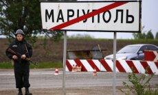 Krievijas spēki tuvojas Mariupolei