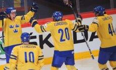 Video: Zviedrijas izlase triumfē mājās notiekošajā PČ
