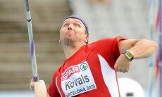 Ainars Kovals (skeps) Barcelona 2010 Eiropas cempionata vieglatlçtikâ. Barselona, Spanija. 30.07.2010. Foto: Româns Koksharovs.