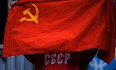 SOK komisija varētu vērtēt, vai Krievijas sportisti Phjončhanā drīkstēs izmantot padomju simboliku