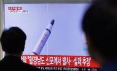 ASV: Ziemeļkoreja neveiksmīgi izmēģinājusi vidēja darbības rādiusa raķeti