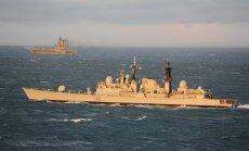 Netālu no Latvijas ūdeņiem manīts Krievijas zemūdeņu atbalsta kuģis